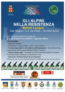 convegno Gli Alpini Nella resistenza
