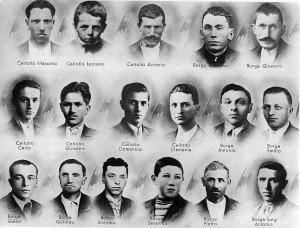 Storia_Borga Recoaro i 17 caduti