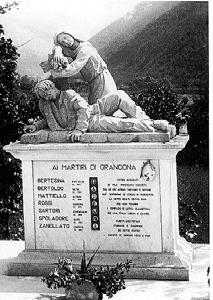 Il monumento ai Martiri di Grancona