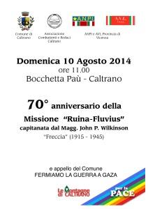 Manifesto 10 agosto 2014 70° Ruina-Fluvius