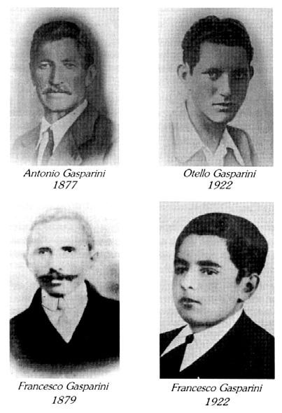 Uccisi in Contrada Gasperini
