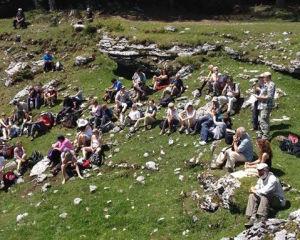 Pellegrinaggio civile a Malga Fossetta