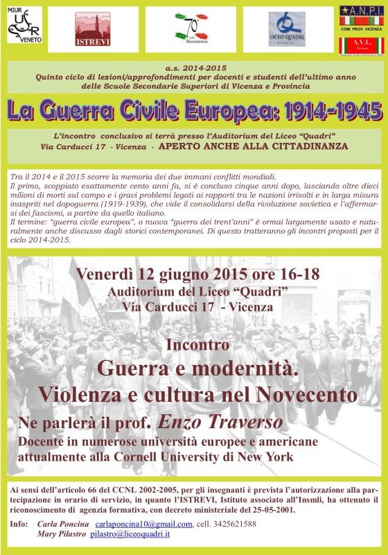 Conferenza Enzo Traverso