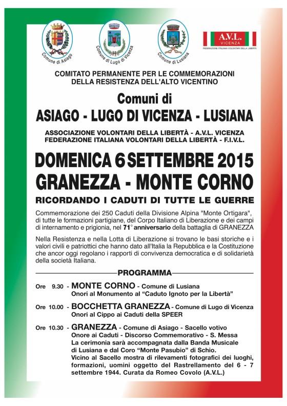 Manifesto Granezza 2015