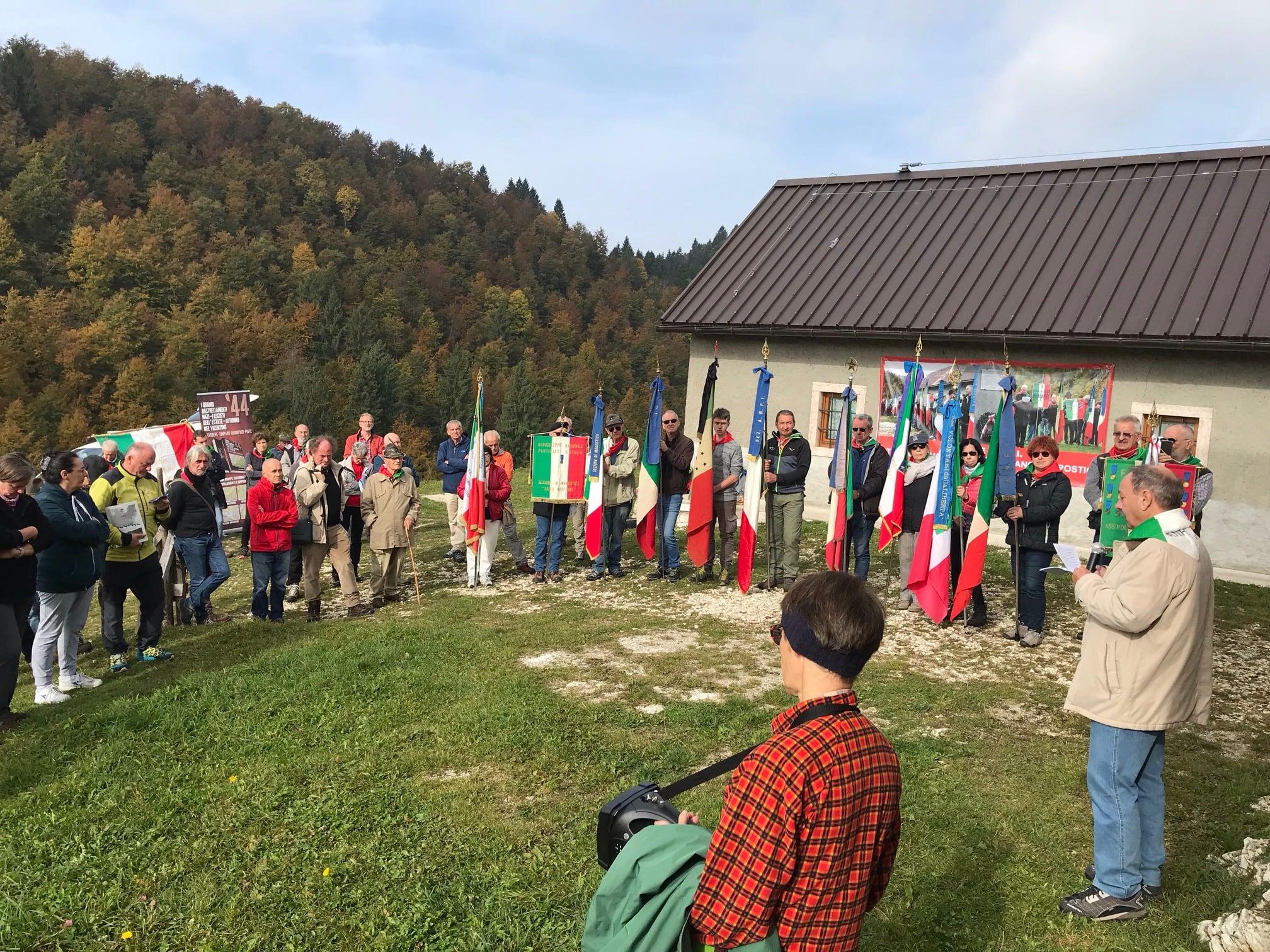 Commemorazione di Malga Silvagno, 13 ottobre 2019